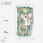 大汉汉园158平方米户型图