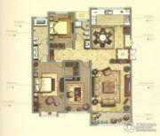 御赵金台3室2厅1卫184平方米户型图