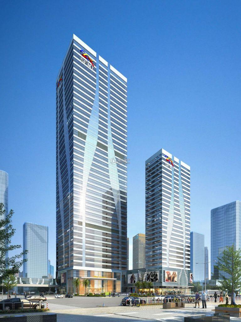 南方金融传媒大厦效果图