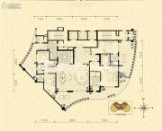 龙湖世纪峰景4室2厅3卫380平方米户型图
