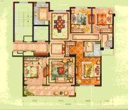 宏地・金玉府4室2厅2卫129平方米户型图