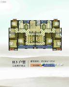 康辉・苏州壹号3室2厅1卫136--137平方米户型图