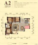 宏升物华天宝五期3室2厅2卫113平方米户型图