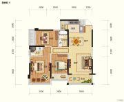 路桥锦绣国际5室2厅2卫126平方米户型图