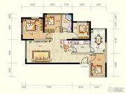 蓝光天娇城4室2厅1卫0平方米户型图
