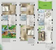 桂林留园3室2厅3卫0平方米户型图