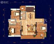 中天・宝电馨城3室2厅2卫141平方米户型图