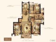 万达华府・大公馆4室2厅2卫177平方米户型图