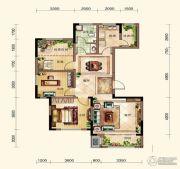 晟鑫康诗丹郡3室2厅1卫117平方米户型图