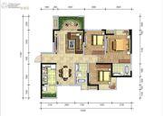 湟普国际湟座3室2厅2卫109平方米户型图